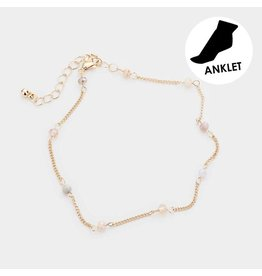 Single Beads Anklet