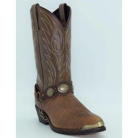 Laredo Men's Tallahassee Bronze Toe Plate  Brown 6771