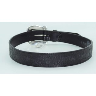 Tony Lama Tony Lama Black Layla Leather Belt C50733