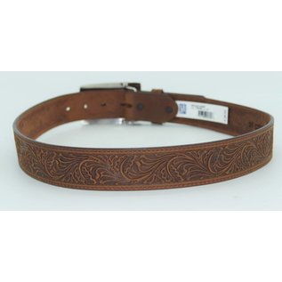 Tony Lama Tony Lama Women's Navajo Spirit Embossed Leather Belt  C50189