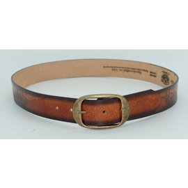 Leegin MEN'S EAGLE & SUNSET LEATHER WESTERN BELT 30604