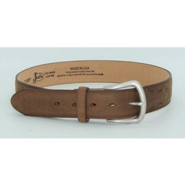 Justin Men's Bay Apache Leather Belt 172BY