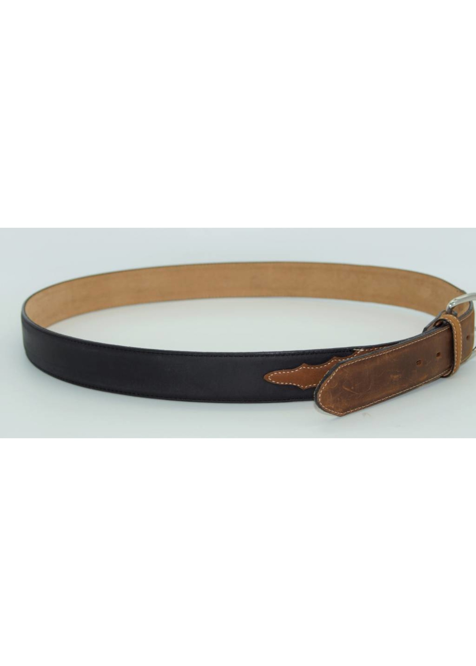 Justin MEN'S BLACK/BROWN BELT X5400