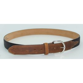 MEN'S BLACK/BROWN BELT X5400