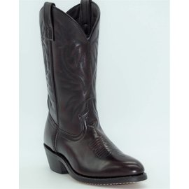 Laredo Laredo Men's London Black Cherry Leather Foot Western Boot 4216