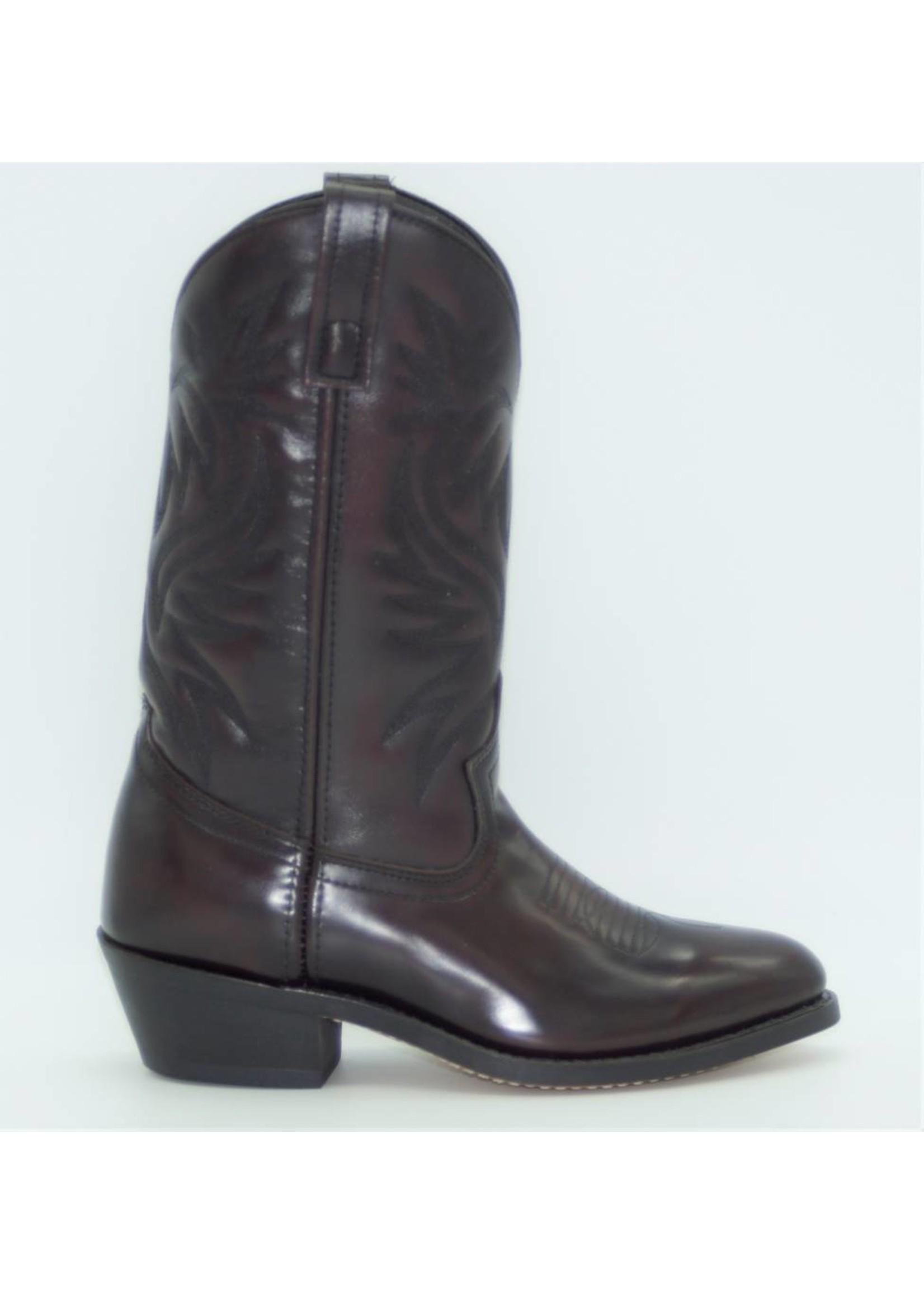 Laredo Laredo Men's London Black Cherry Leather Foot Western Boot 4216