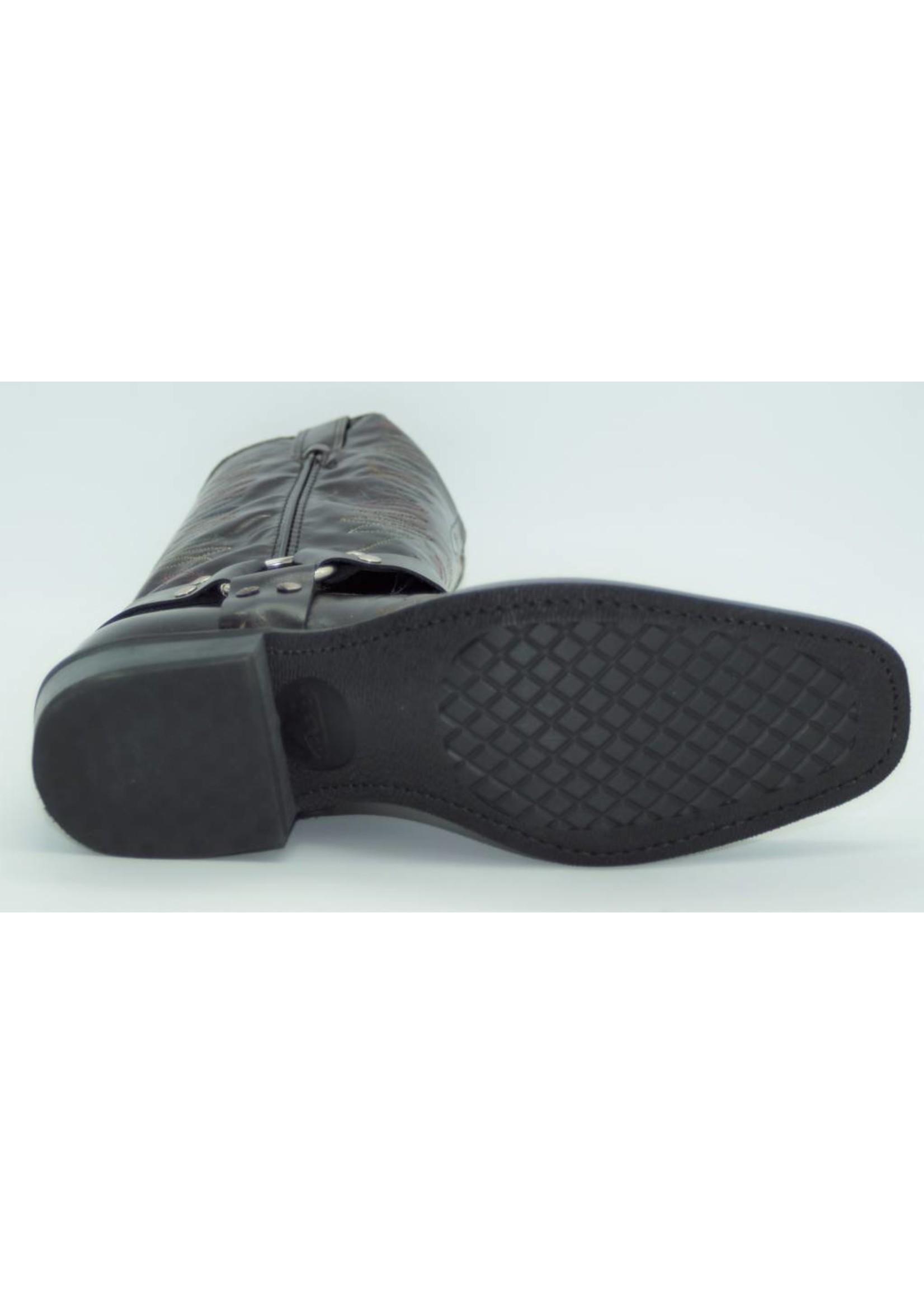 Laredo Men's Burgundy Harness Boot 5083