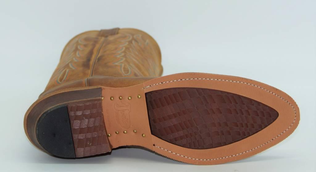 bae15ce8a0e Justin - Justin Keaton Cognac Leather Boot BR251