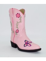 Laredo Children's Laredo Pink with Butterfly LC2492