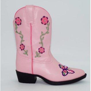 Laredo Children's Laredo Pink with Butterfly LC2492