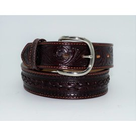 Tony Lama Men's Pueblo Lace Belt by Leegin Belt C42494