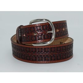 Justin Men's BANDERA WEAVE Belt C13795