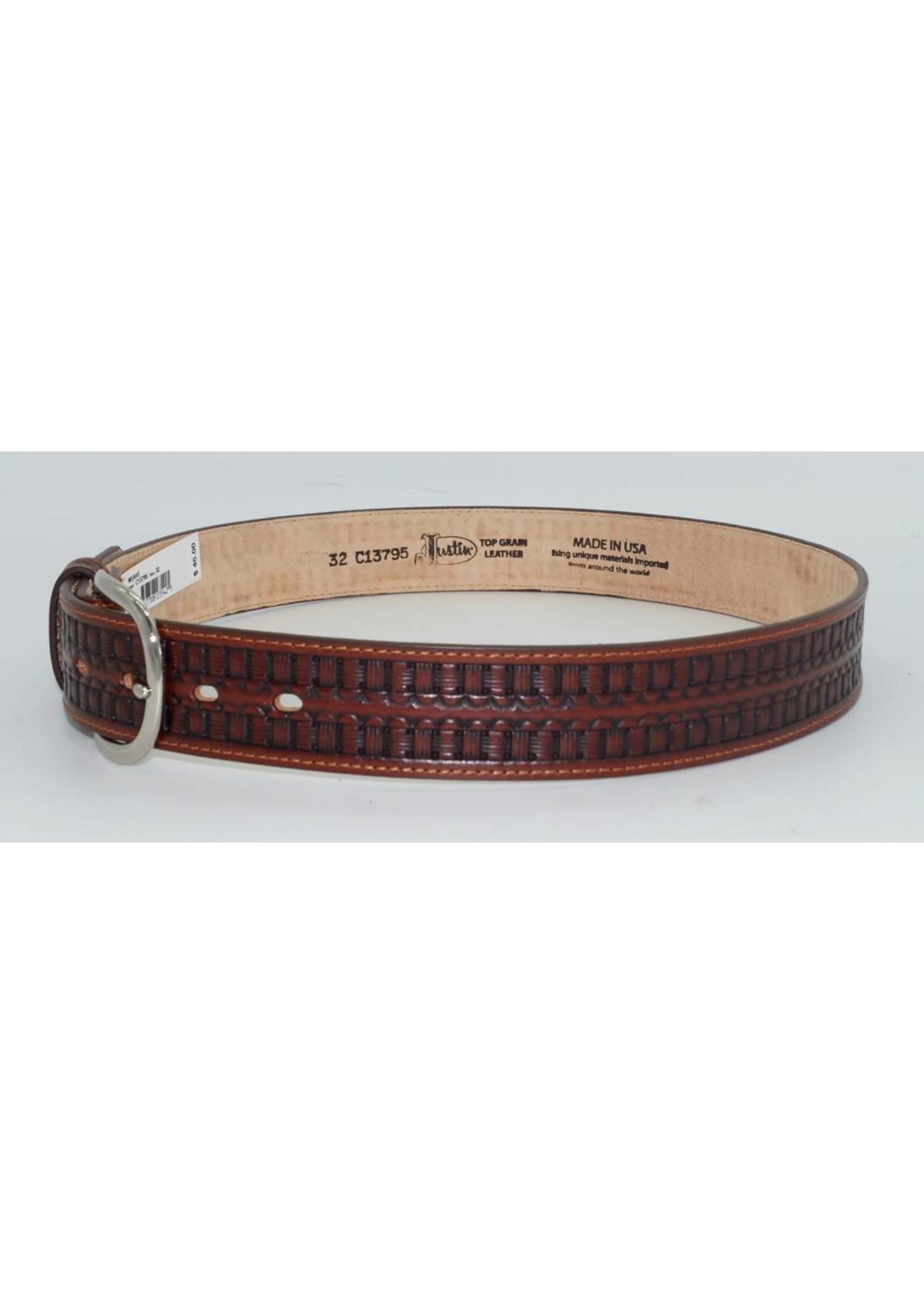 Justin Men's BANDERA WEAVE Belt C13795