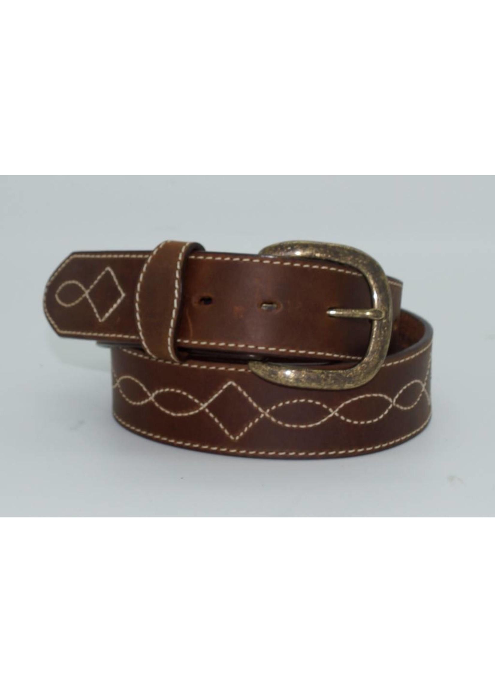 Justin Men's Justin Tomahawk stitch Belt- C13819