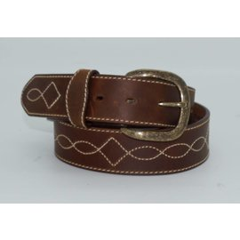 Justin Men's Justin Tomahawk stitch Belt- C13819