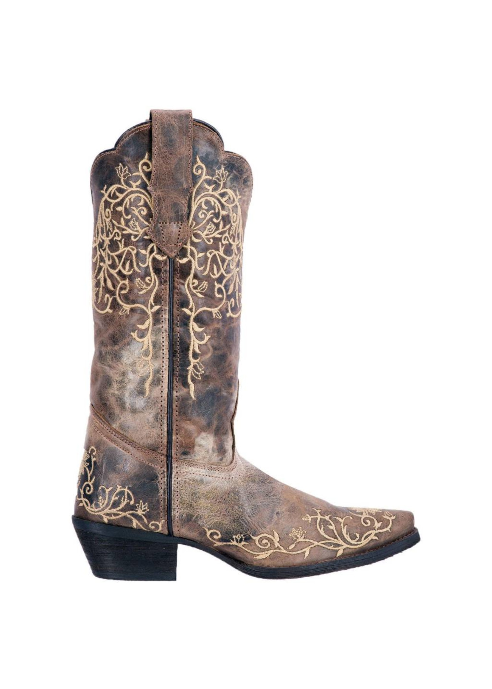 Laredo Laredo Women's Jasmine Western Fashion 12 Inch Snip Toe Cowboy Boot 52177