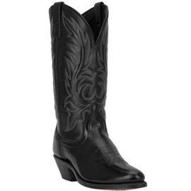 Laredo Women's Kadi Black Leather Foot Western Boots 5740