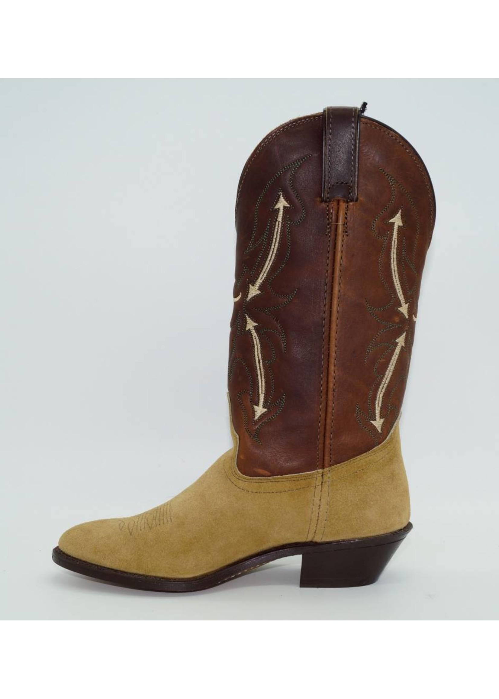 Laredo Women's  Brown Suede Boots 6022