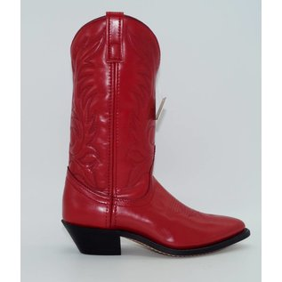 Laredo Women's Red Leather Western Boots 5741