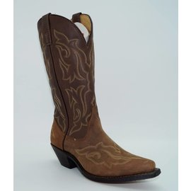 Laredo Women's Leather Stitched Western Boots 5404
