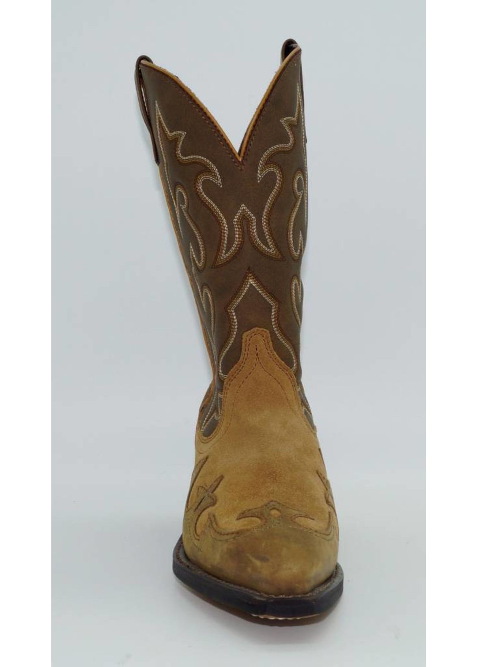 Laredo Women's Suede with Inlay Western Boot 5412