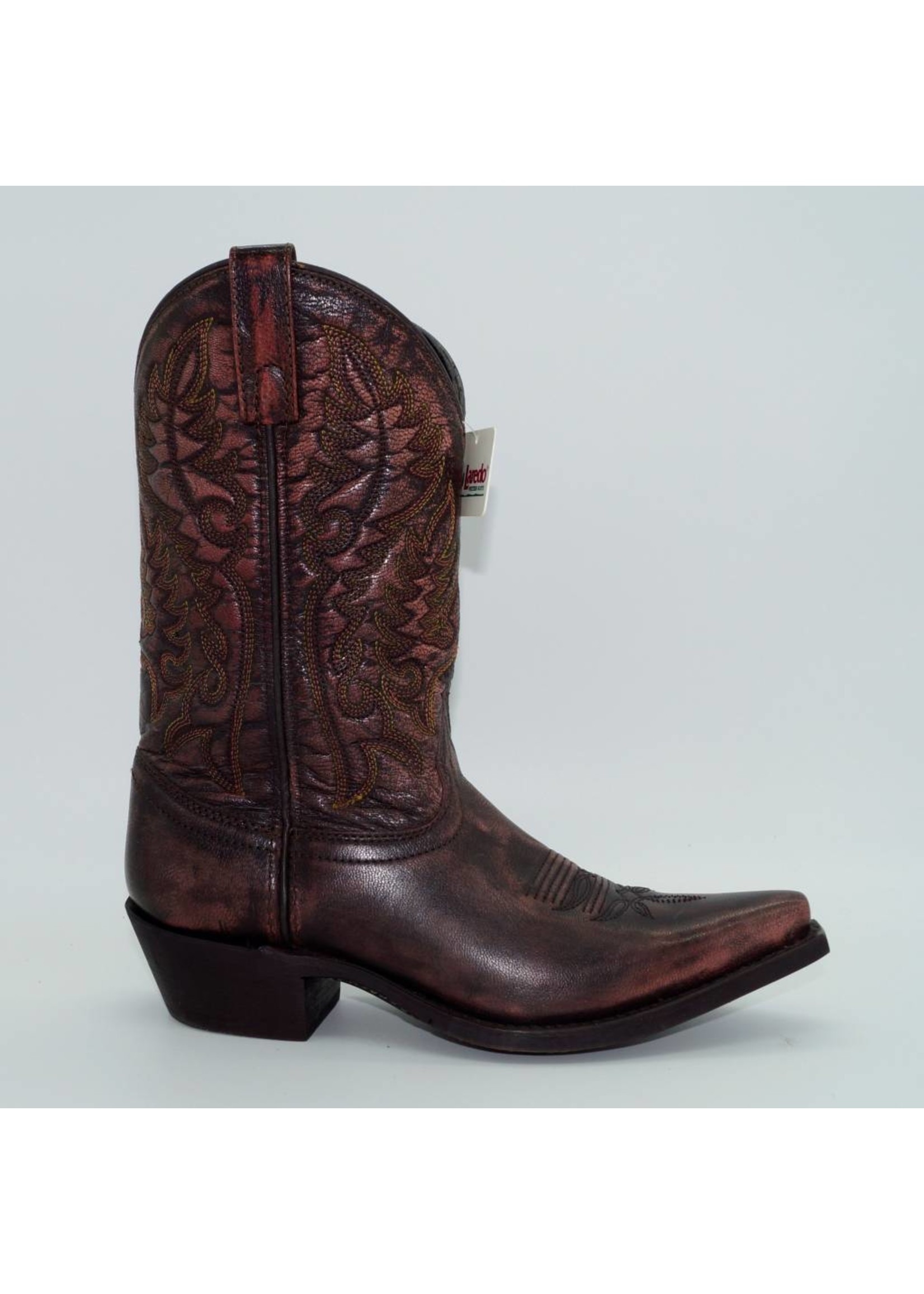 Laredo Women's Distressed Brown Western Boots 5108