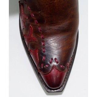 Laredo Women's Fever Red Wingtip Western Boots 51069