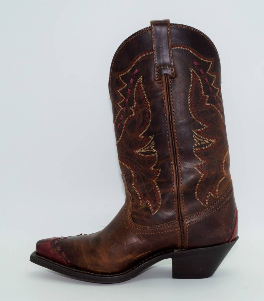 ab9a70e6f26 Laredo - Women's Fever Red Wingtip Western Boots 51069