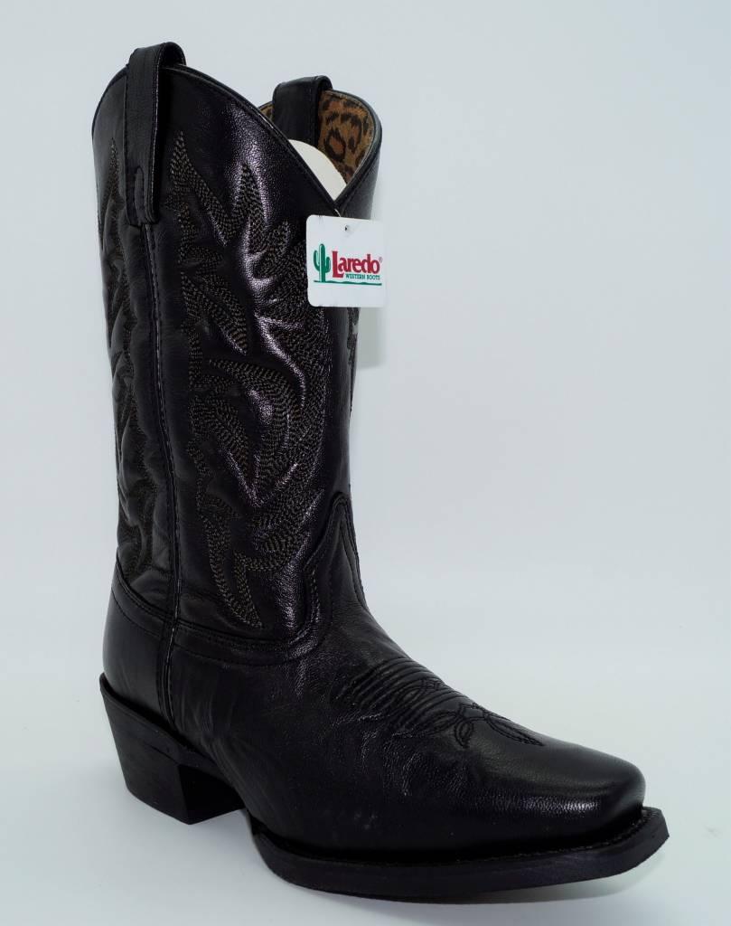 Women's Christine Western Boots Black