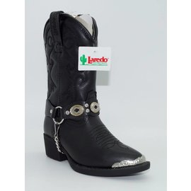 Laredo Children's Pointed Toe Leather Western Boot LC2200