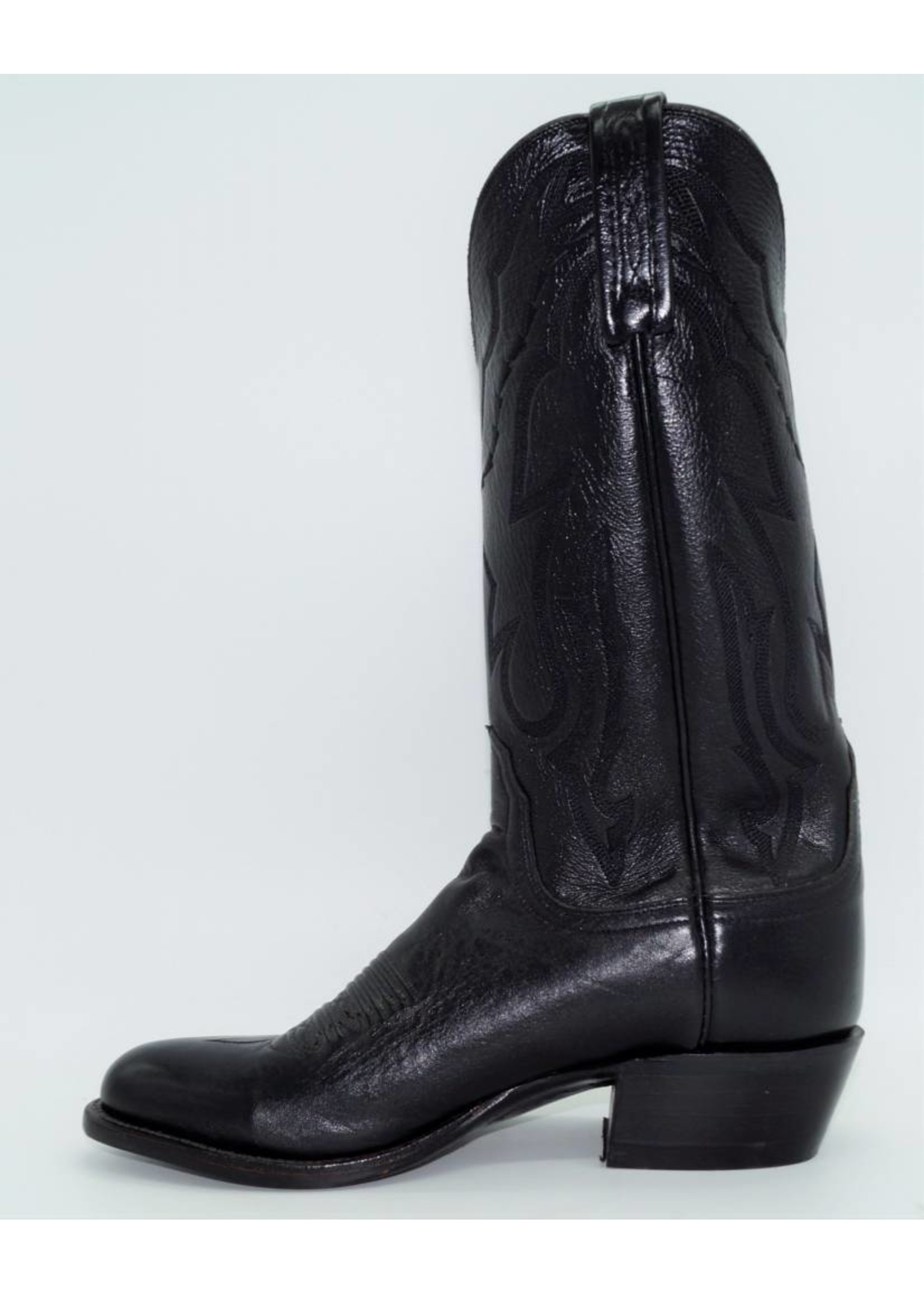 Lucchese Men's Black Western Boots T3094-R4