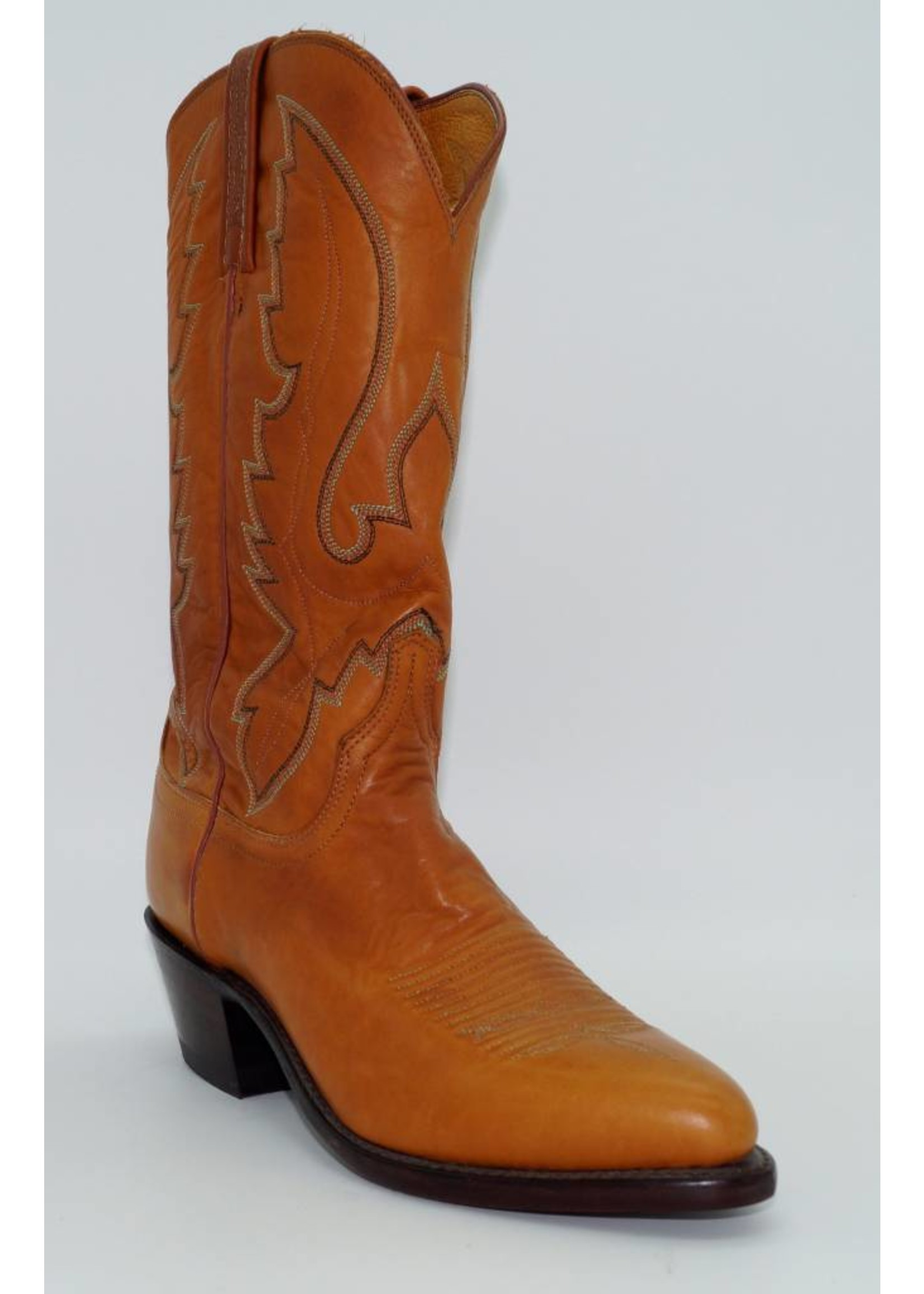 Lucchese Men's Cowboy Western Boots Tan Leather N1505-J4