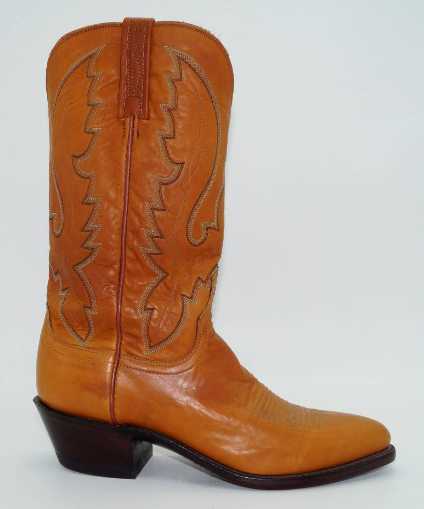 d77a7b20088 Lucchese - Men's Cowboy Western Boots Tan Leather N1505-J4