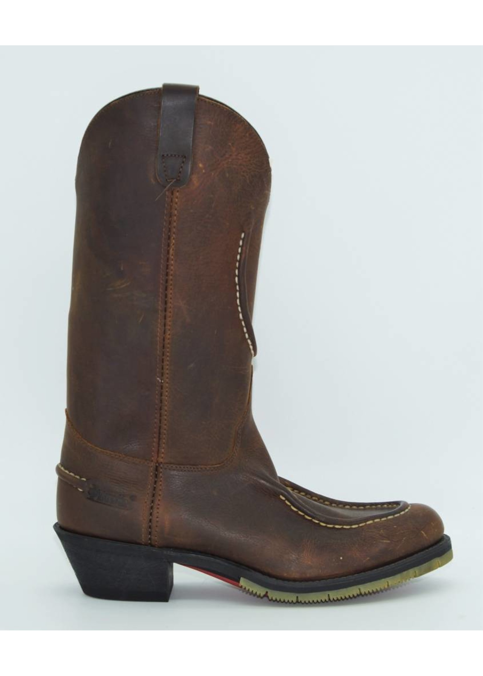 Laredo Brown Distressed Men's Leather Boots 2122