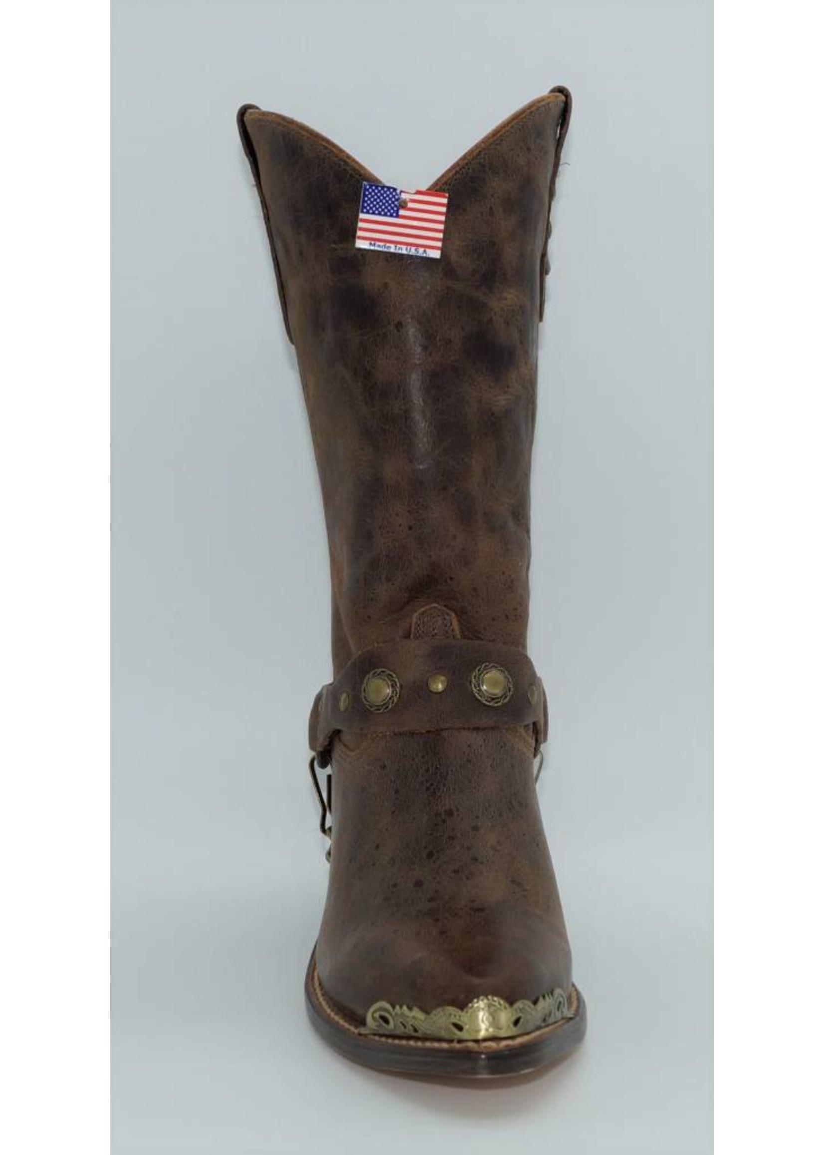 Sage Women's Abilene Brown Slouch Boots 4528