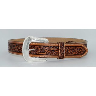 Tony Lama Men's USA Made Patriot Top Grain Leather Belt C13734