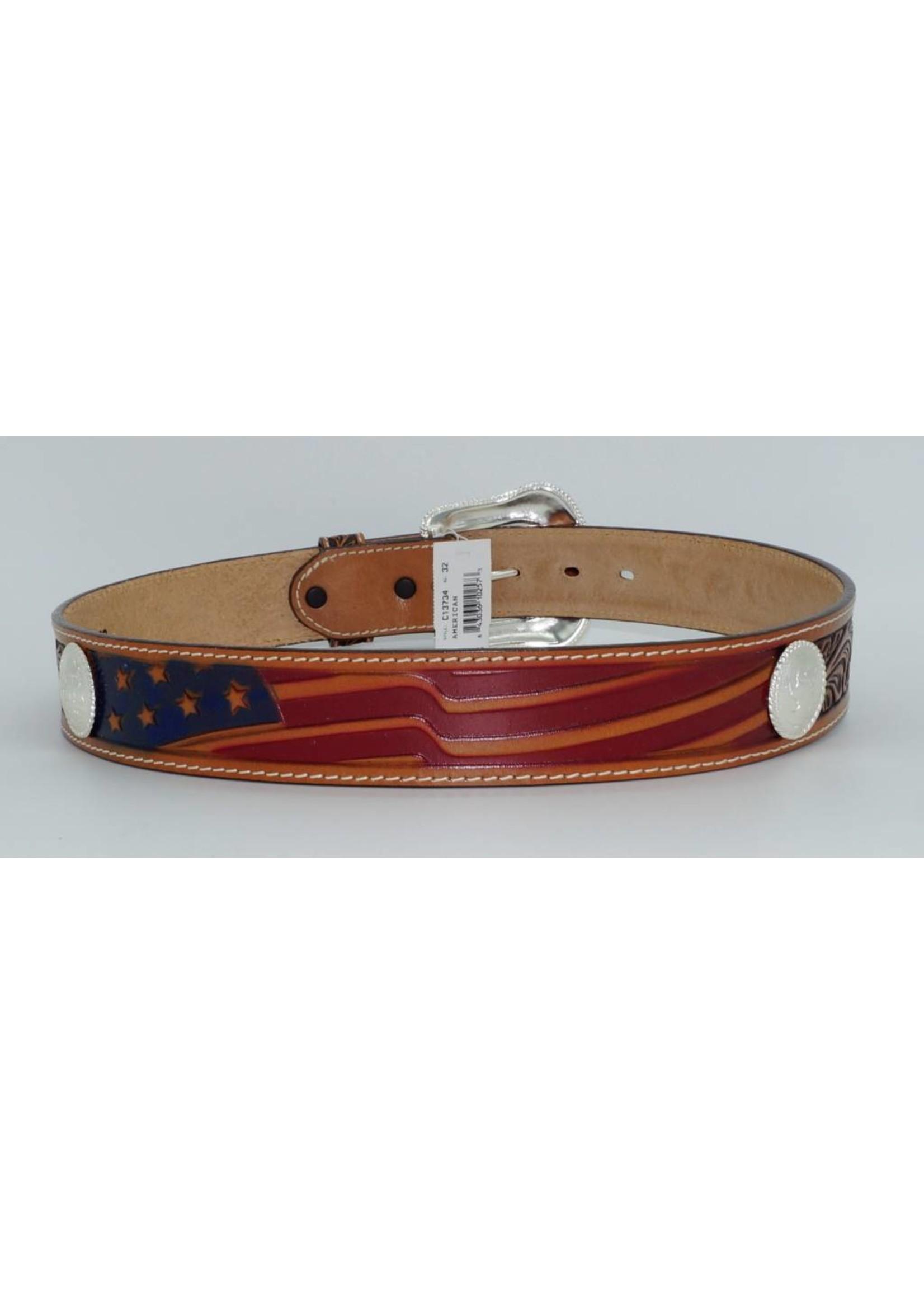 Vintage Torel  Leather Belt Men/'s  size 40100 Top Grain Cowhide
