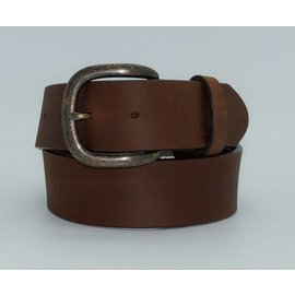 Justin JUSTIN MEN'S BARK BROWN LEATHER WESTERN BELT 232BD