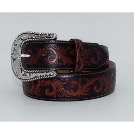Tony Lama Tony Lama Men's Scottsdale Classic Tooled Western Belt C41773