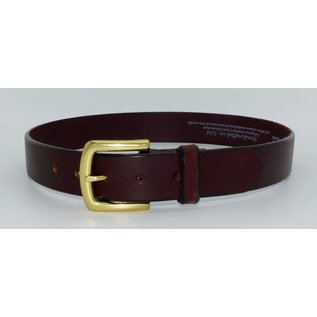 Leegin Leegin English Bevel Belt Brown 21807
