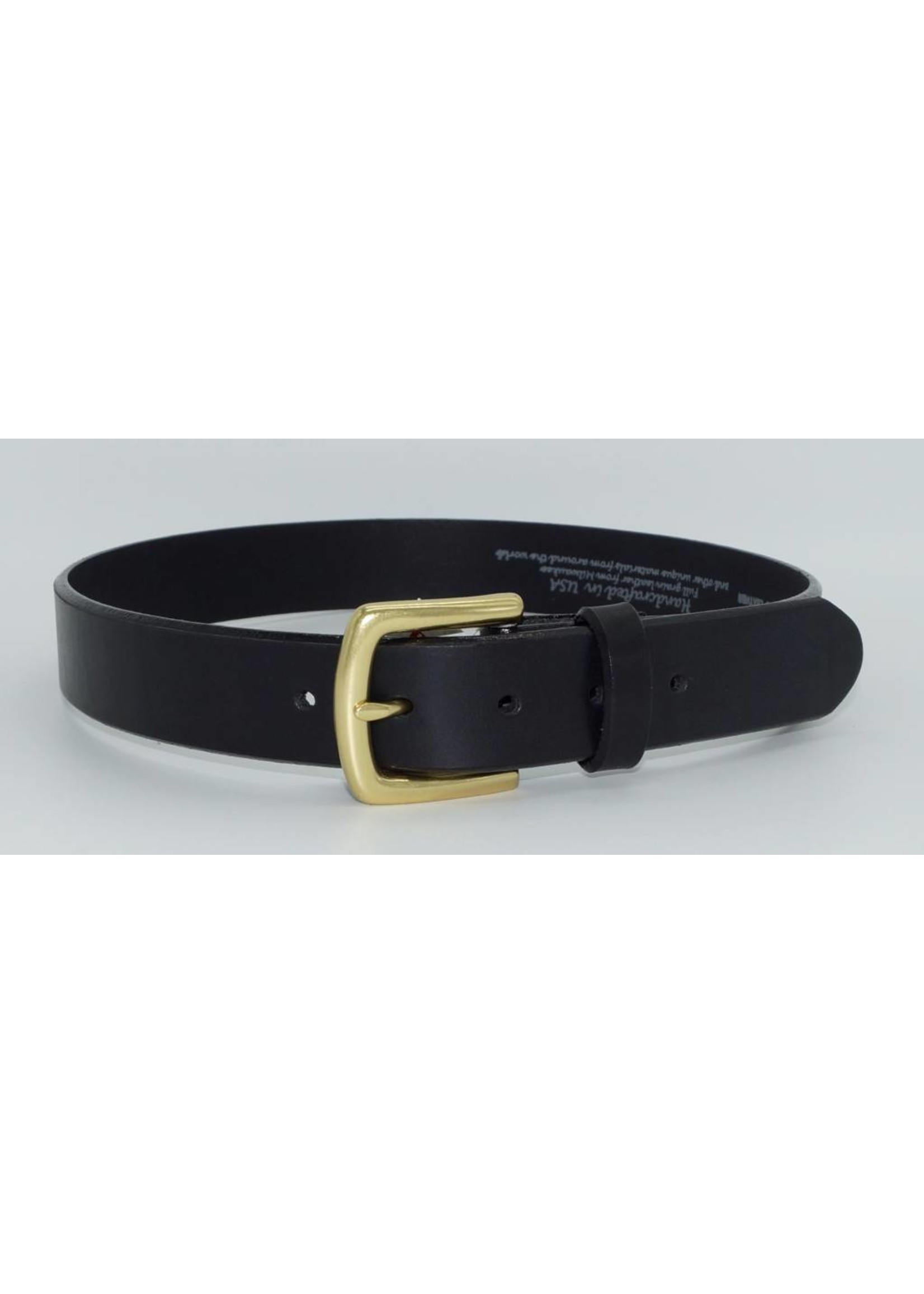 Leegin Leegin English Bevel Belt Black 21803