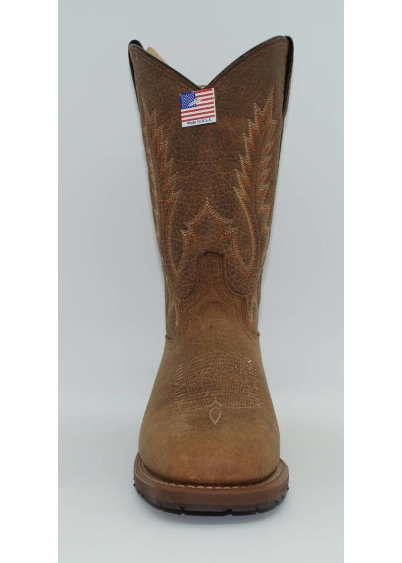 Abilene 11″ Tan  American Bison Stockman, 6724