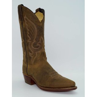 Abilene Men's Distressed Leather Cowboy Boot Snip Toe 6436