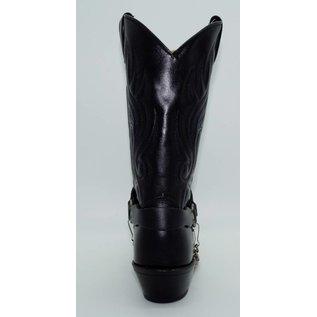 Abilene Black Cowhide with Concho Bracelet 3033