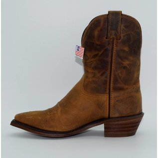 "Abilene Distressed Brown 7"" Cowgirl Boots 9091"