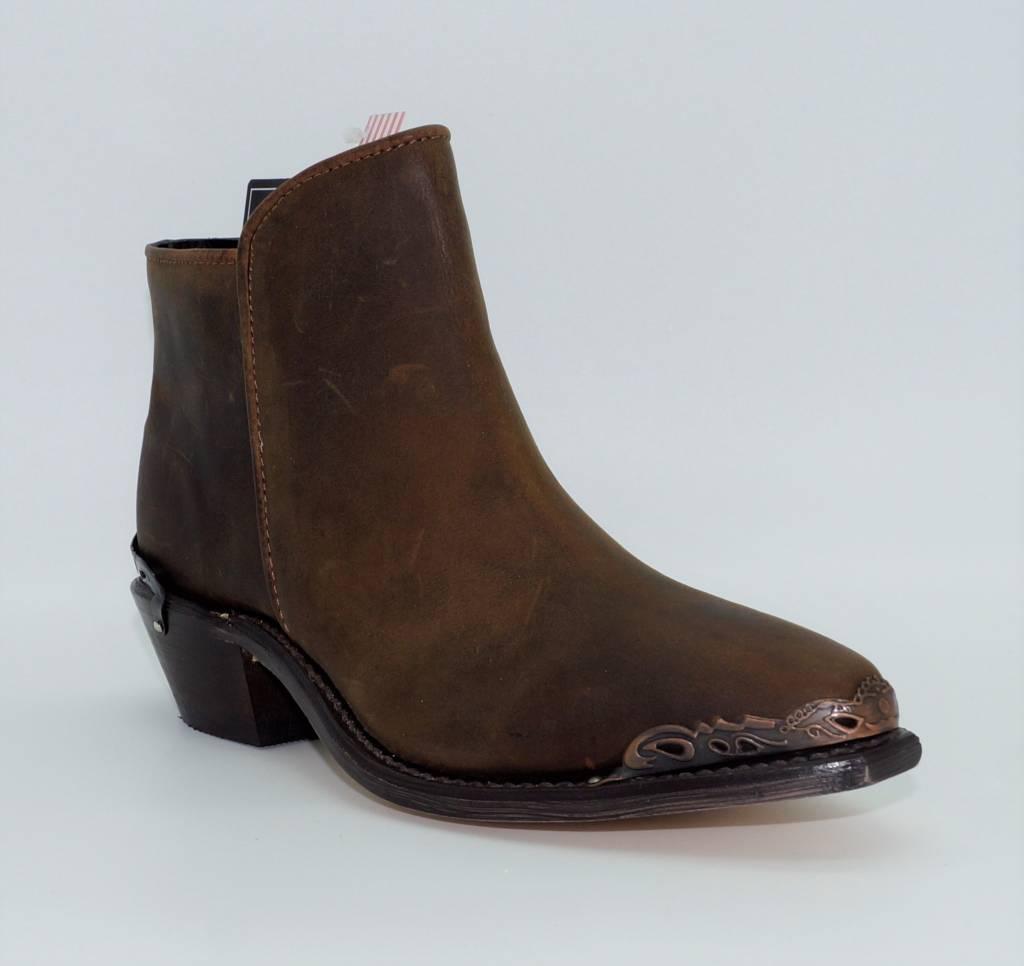 a64a52884ad Women's Brown Snip Toe Demi-Boots 4566 - Circle B Western Wear