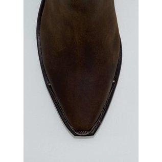 Sage Women's Brown Snip Toe Demi-Boots 4566