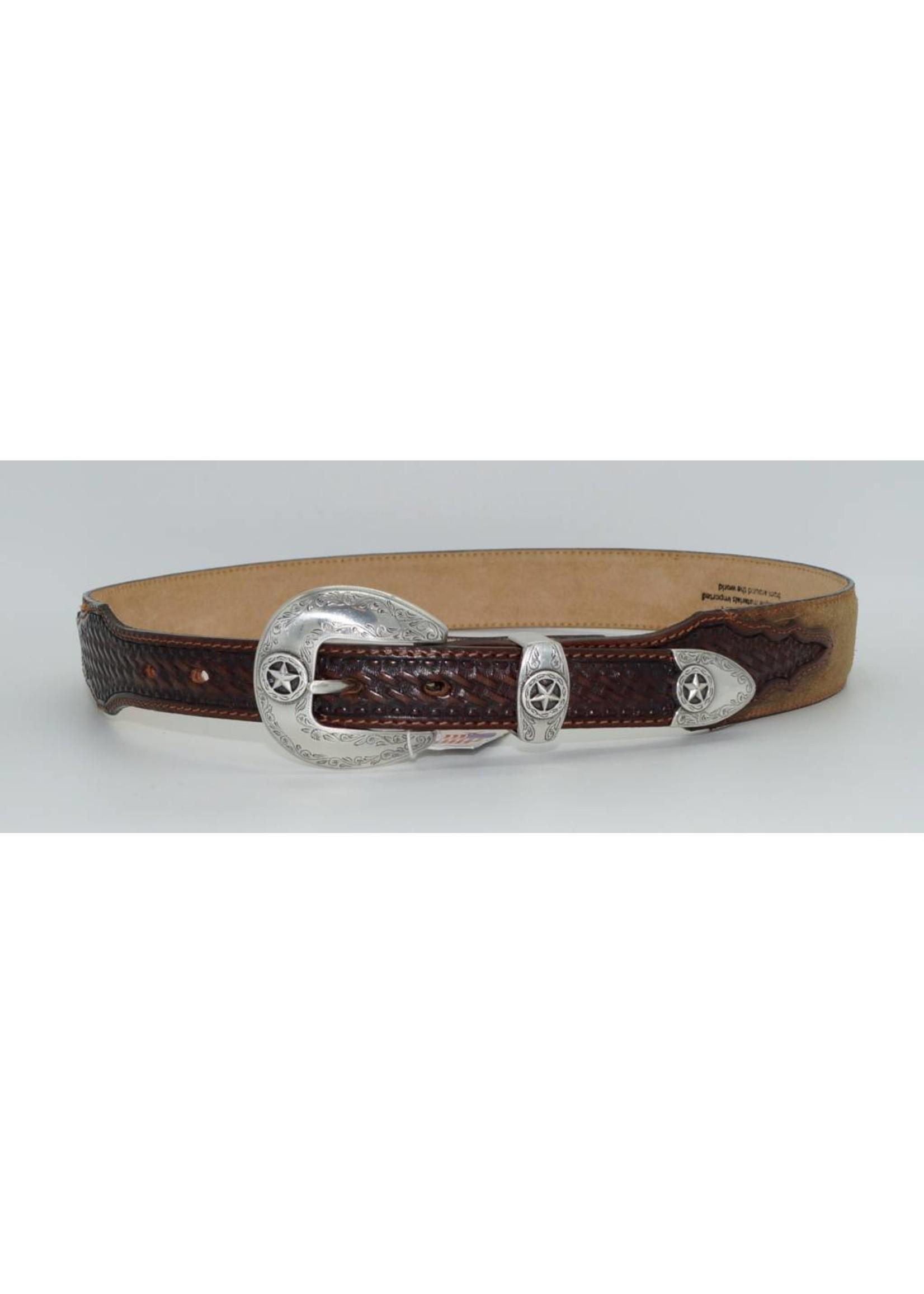 Justin Lone Star Ranger Belt C13578