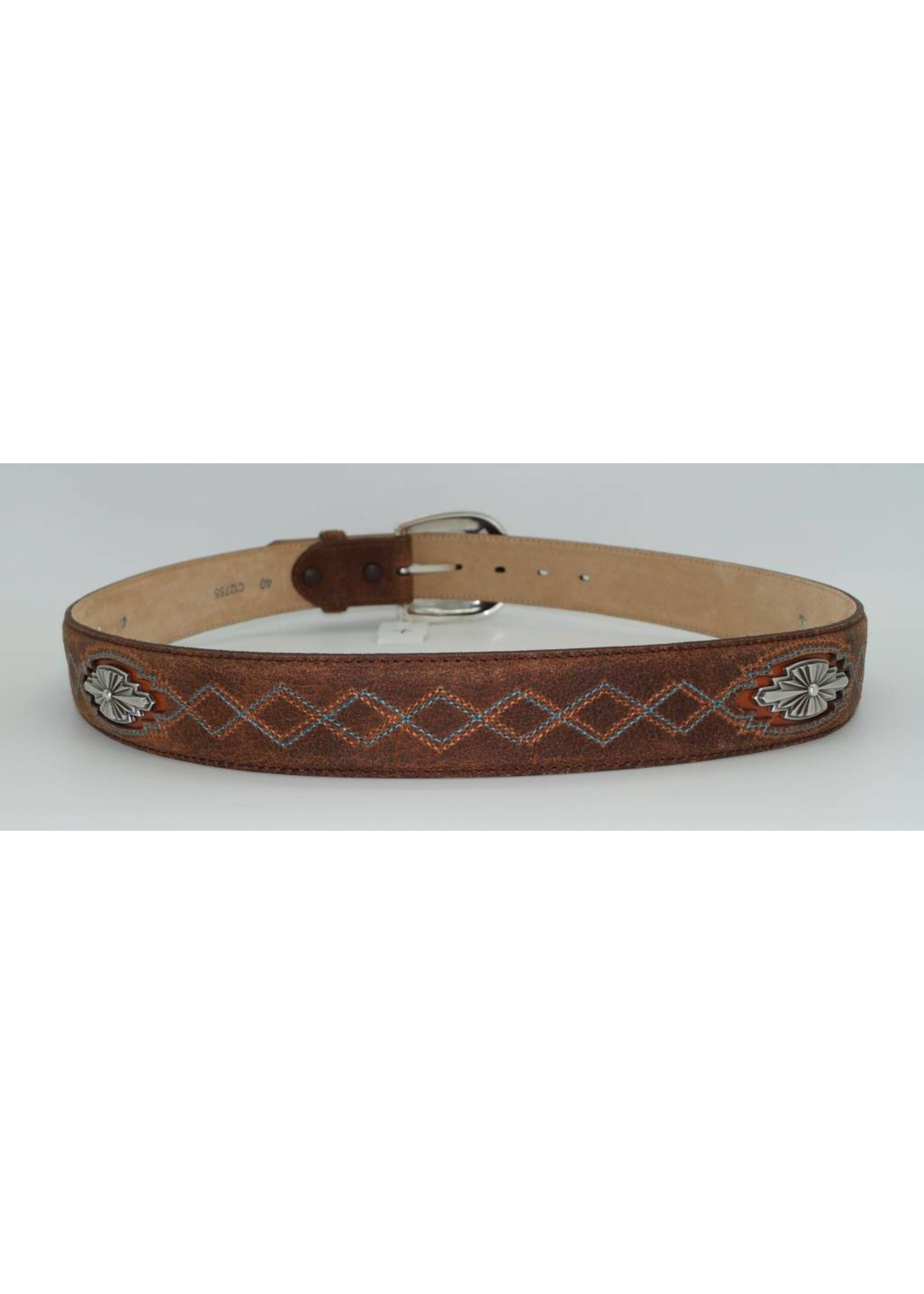 Justin Navajo Country Leather Belt C12755