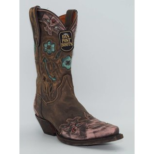 Dan Post Women's Sanded blue Arrow Western Boots DP3459